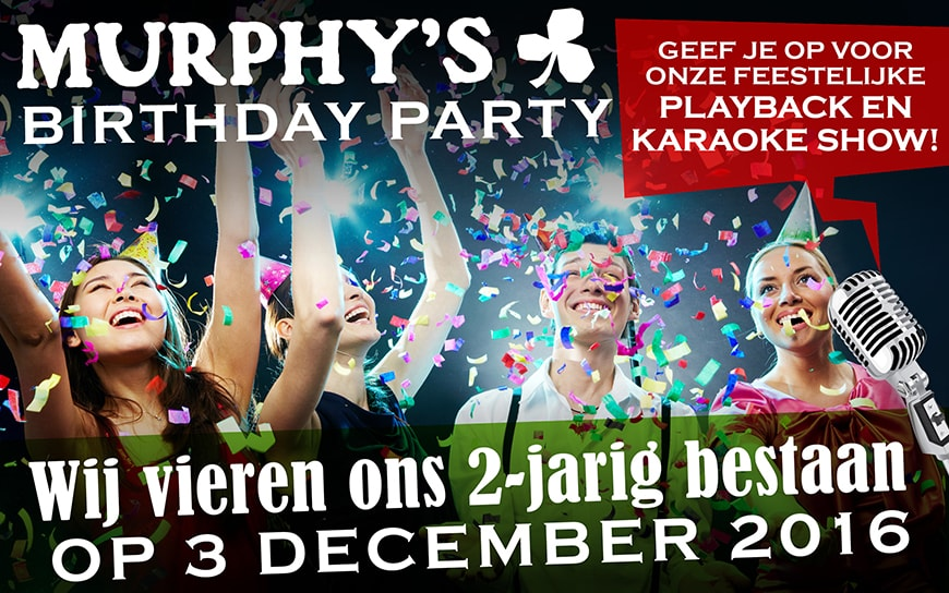 Murphy's Birthday party